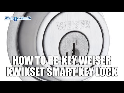 Mr Locksmith How to Rekey Weiser Kwikset Smart Key Lock