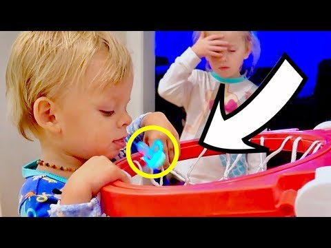 Pacifier Slam Dunk: Will He Give It Up?