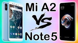Xiaomi Mi A2 VS Redmi Note 5. Сравнение двух хитов!
