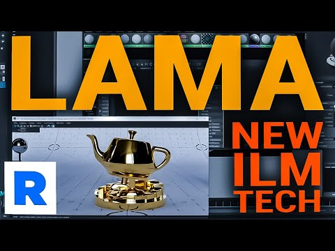 Lama for Renderman 24 - Maya and Katana