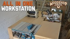 All-In-One Woodworking Workbench Plans Update - Plans Now Available!