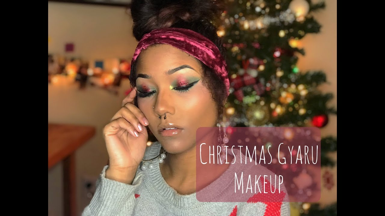 Amber White: Christmas Gyaru Makeup