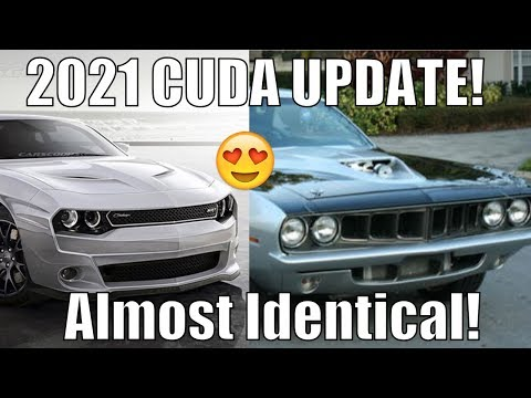 2021 Hellcat Hellephant Cuda It S Real Dodge Is Sneaky Youtube