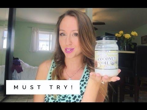 Coconut oil plus perfume!