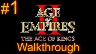 Age of Empires 2 Walkthrough - Part 1 - Joan of Arc Campaign - An Unlikely Messiah