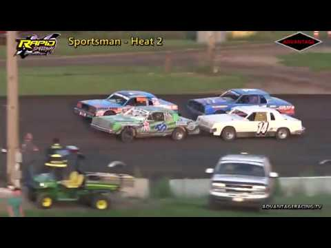 Sportsman Heat/Feature - Rapid Speedway - 8/31/18