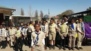 Thabaneng Primary School tribute to Nelson Mandela
