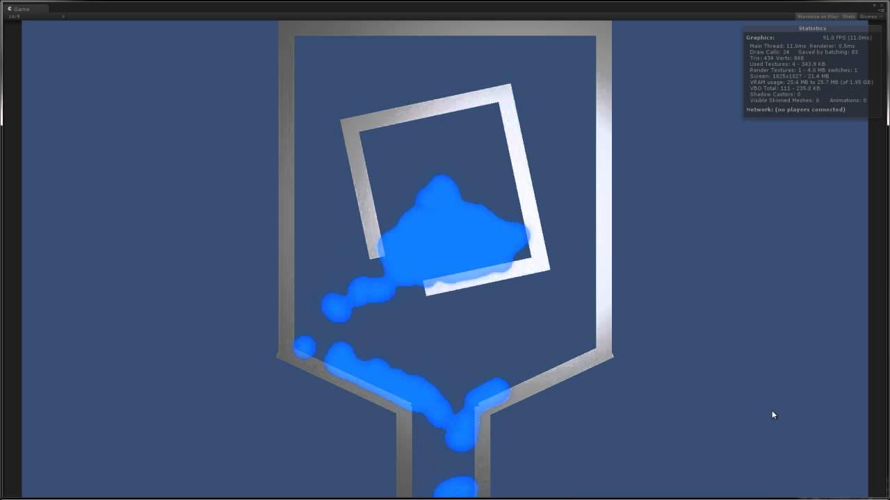 Unity 2D Water Physics Demo