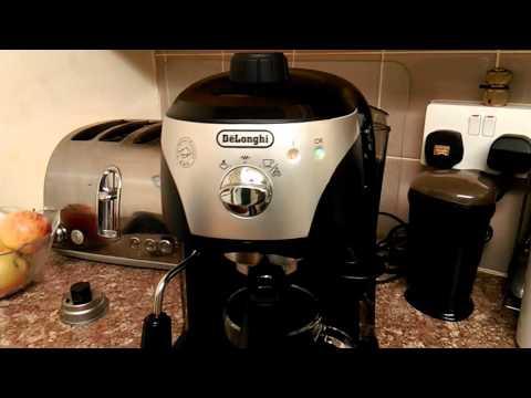 Delonghi ecc221 espresso coffee maker review