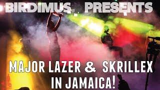 MAJOR LAZER AND SKRILLEX IN JAMAICA 2014! WITH MACHEL MONTANO!