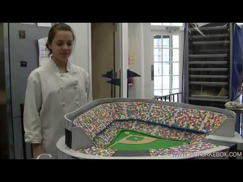 Yankee Stadium Birthday Cake Youtube