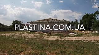 Стропильная система четырёхскатной вальмовой крыши