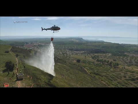 AS350 B3e Firefighting Missions