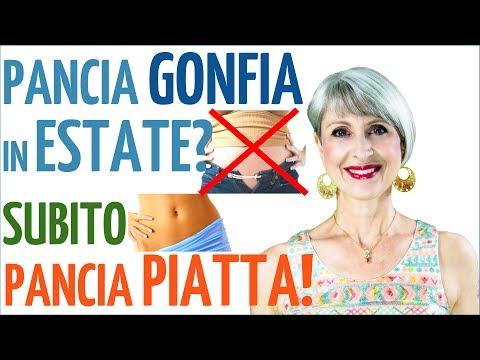 STANCO della PANCIA GONFIA in ESTATE? PANCIA PIATTA subito! 8 TRUCCHI anti GONFIORE ADDOMINALE