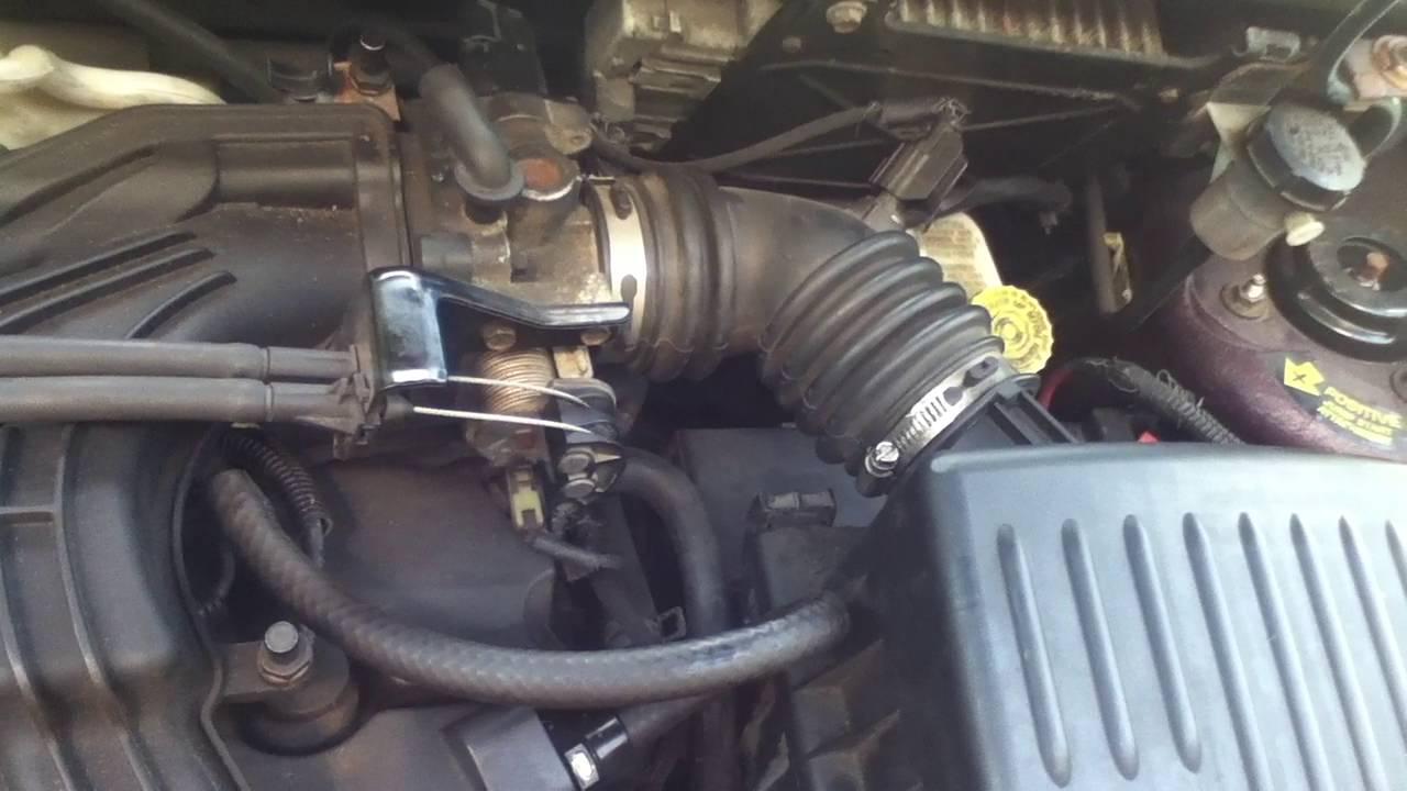 PT Cruiser High Idle Speed, Air Intake Tip,& P0404 fix
