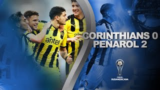Corinthians vs. Peñarol [0-2] | RESUMEN | Fecha 2 | CONMEBOL Sudamericana 2021