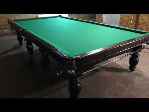 Реновация бильярдного стола 12 футов