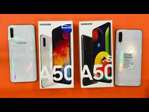 Samsung Galaxy A50s Vs Samsung Galaxy A50