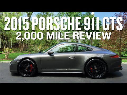 2015 Porsche 911 Carrera GTS 2,000 Mile Review