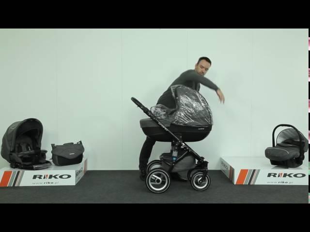 Wózek Dziecięcy Riko Brano - YouTube