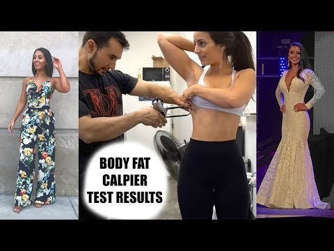 Body Fat Results // Miss Rhode Island Pageant