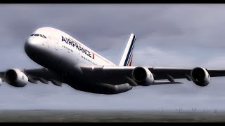 HD FSX-Air France London to Paris (Training Day)