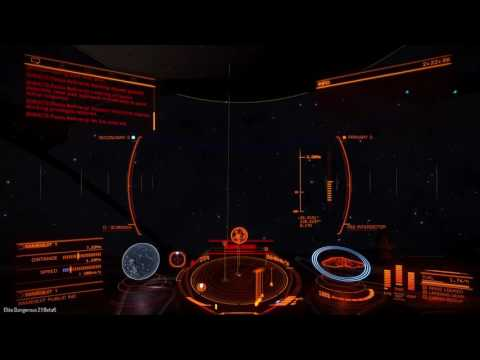 Elite Dangerous Beta 2.1 Sample Salvage Mission
