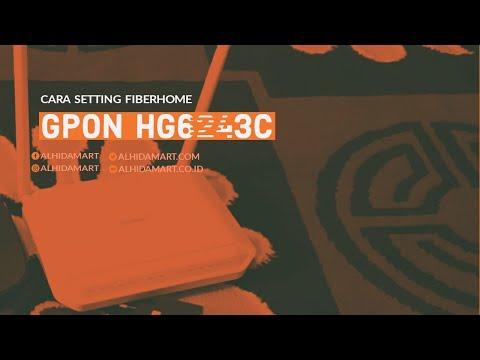 Cara Setting Modem Fiberhome GPON HG6243C jadi Akses Point di HP 100% Work