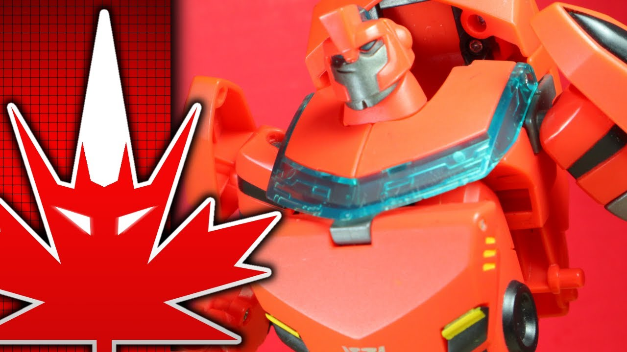 Transformers Animated Deluxe Ironhide Review By TFanPage101
