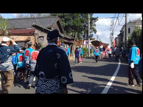 熊野神社(中和倉)の例祭(2016年)