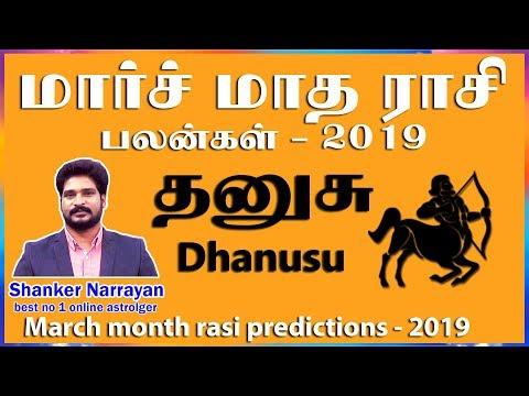 March Month Rasi Palan 2019 danusu