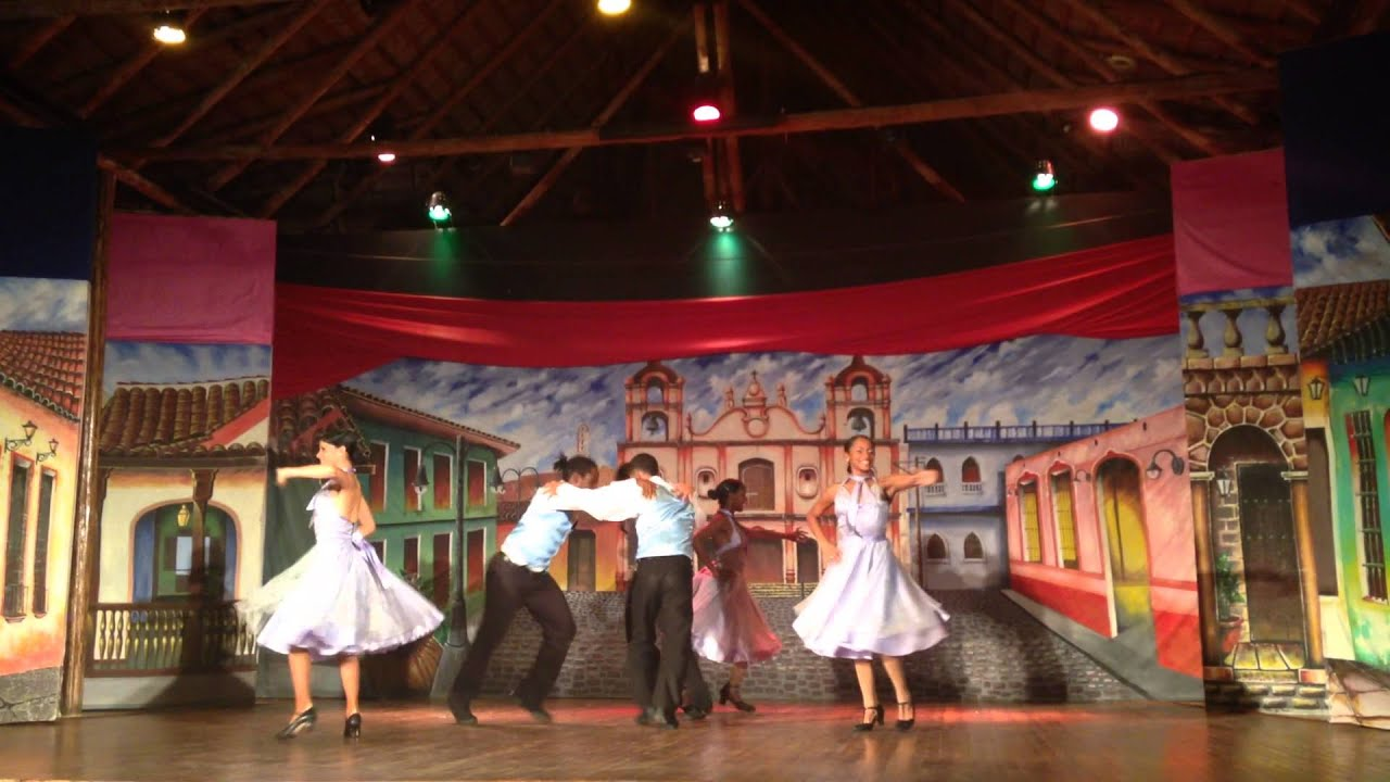 The Show From Gran Club Santa Lucia Hotel Youtube