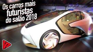 Os Carros Mais Futuristas Do Salão Do Automóvel 2018  | Top Speed