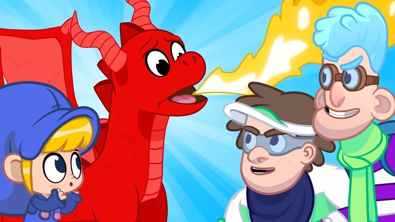 My Scary Dragon Morphle! My Magic Pet Morphle Episodes For Kids.