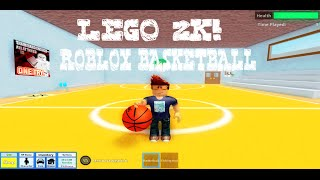 Lego 2K! | Roblox Basketball Pick-Up Game