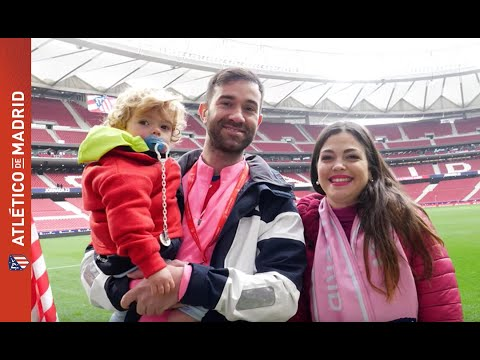 We welcome our club member number 130,000 to the Wanda Metropolitano