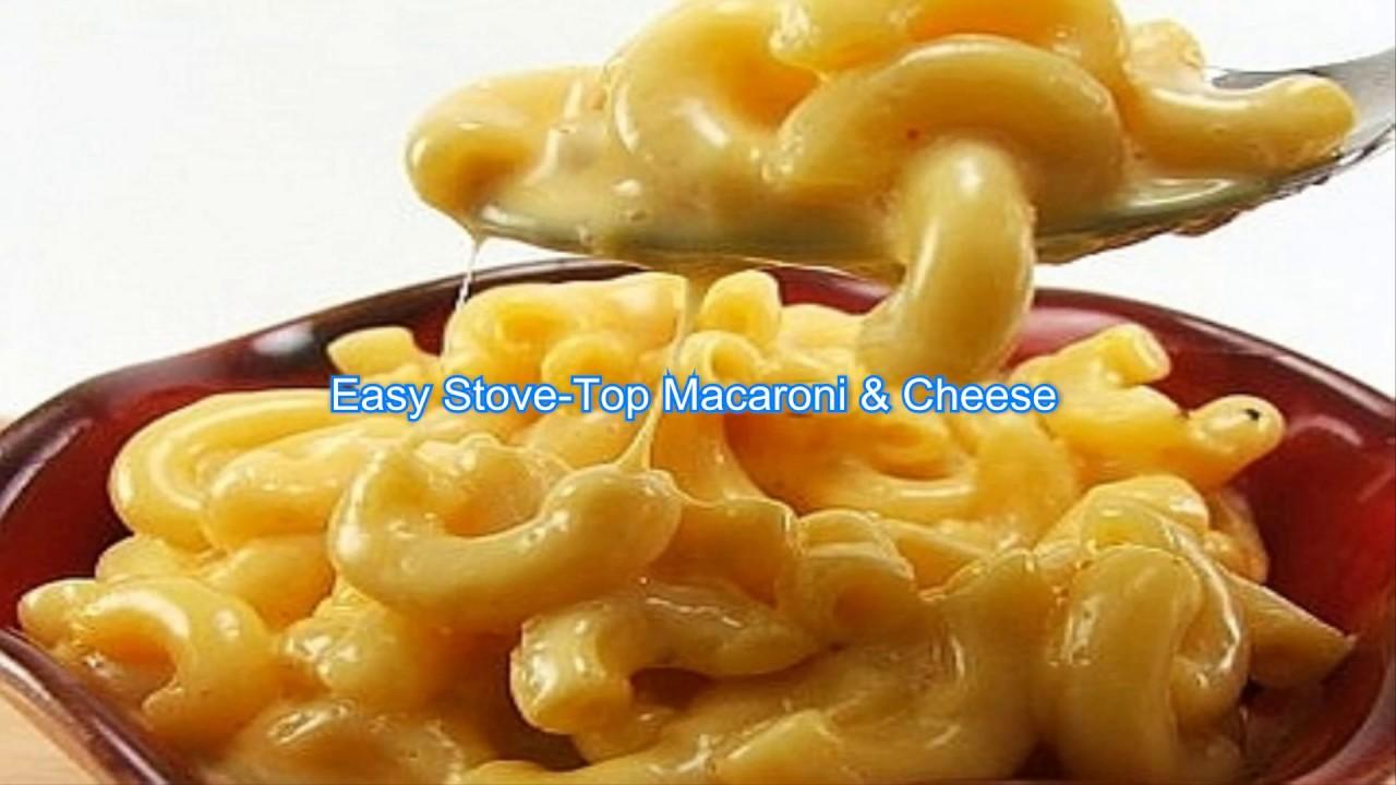 Easy Stove Top Macaroni Amp Cheese Youtube