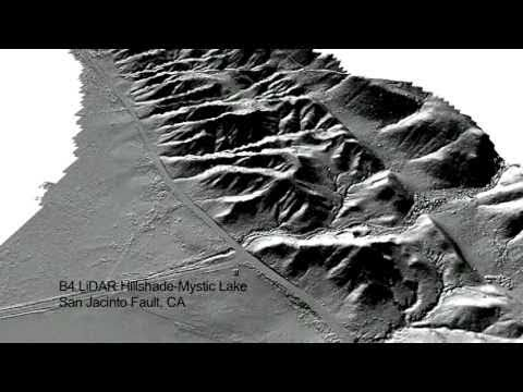 LiDAR-Illuminating Earthquake Hazards