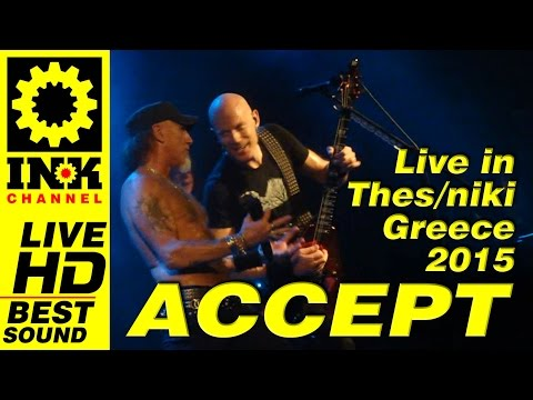 ACCEPT Full Concert in Greece 2015