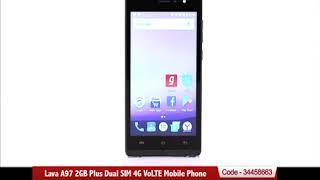 Lava A97 2GB Plus Dual SIM 4G VoLTE Mobile Phone