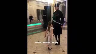 Карачаевская свадьба. Малышка показала класс