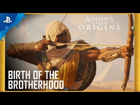Assassin's Creed Origins - Birth of the Brotherhood Trailer | PS4