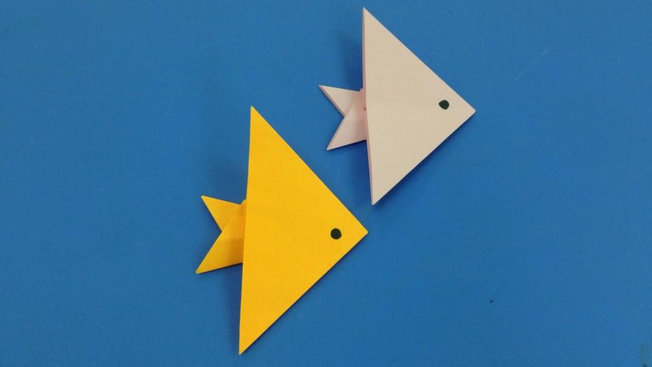 Easy way to make a paper fish