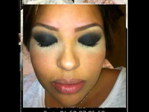 Turbo Coiffure de mariée maquillage libanais makeup - YouTube JM37