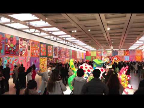 Yayoi Kusama - 2017 - Tokyo Exhibition
