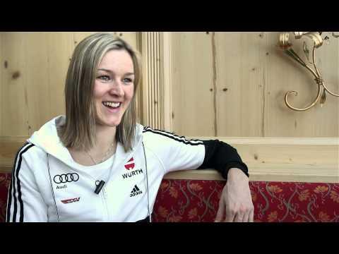 Langlauf: Olympia-Interview mit Denise Herrmann (29.01.2013)