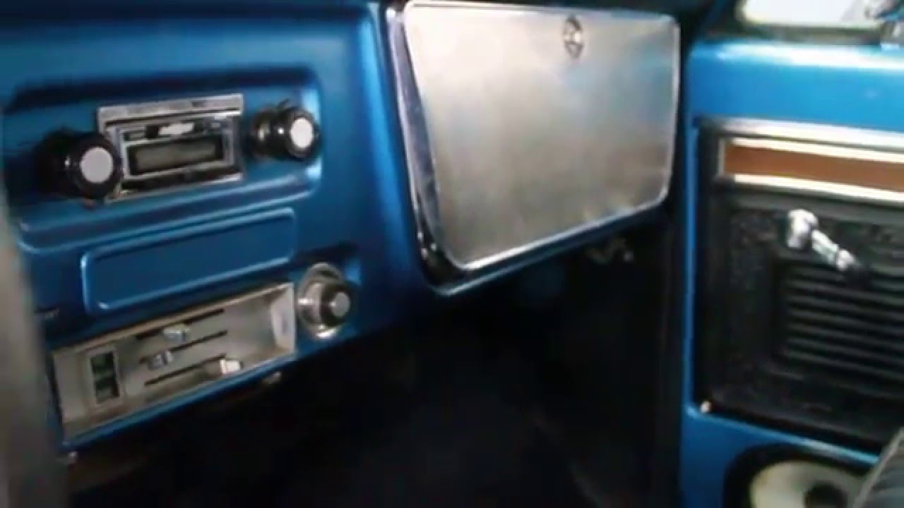 1971 Chevrolet Cheyenne Stepside For Sale - YouTube