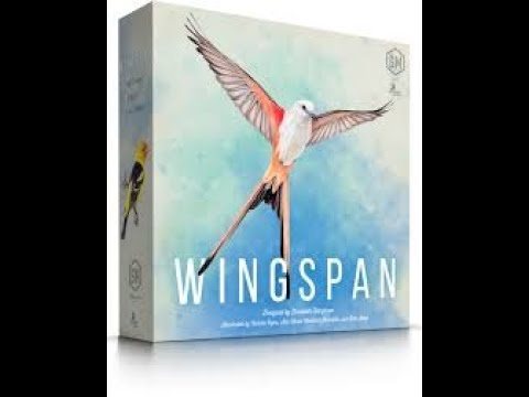 ~C.A.G~ Unboxing Wingspan by Stonemaier Games |