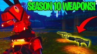 Rich Scammer Has Unreleased Season 10 Guns! (Scammer Get Scammed) Fortnite Save The World