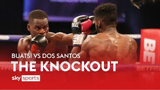 Joshua Buatsi viciously knocks out Daniel Dos Santos in fourth round 💥💥| The Knockout